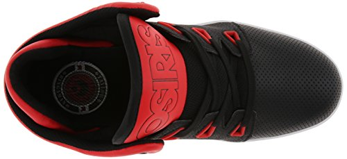 Zapatos Osiris D3v Rojo-Negro-Blanco (Eu 40 / Us 7.5 , Rojo)