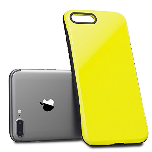 Nicexx [2018 Updated] iPhone 7 Plus/iPhone 8 Plus Case Premium Luxury Design with Slim Reinforced Drop Protection [10 ft. Grade Drop Tested] iPhone iPhone 7 Plus/iPhone 8 Plus (Yellow Color) by Nicexx