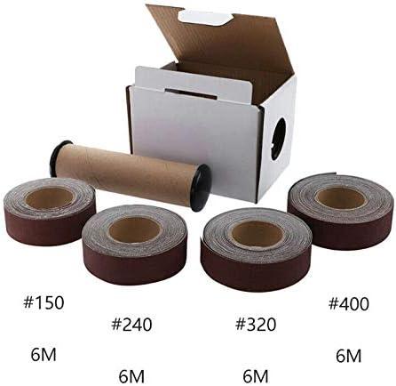 Moligh doll 1セット サンディングベルト150240320400グリット研削ベルトサンドペーパー研磨ツール