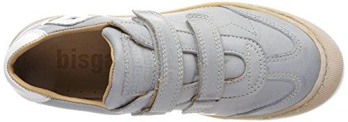 Bisgaard Unisex-Kinder Klettschuhe Sneaker Grau (Grey)