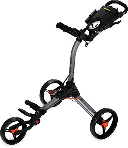 Bag Boy C3 Compact Push Cart Grey/Orange