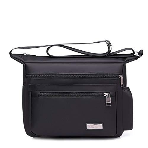 Bag Grande Resistente Maletín Messenger Tactical Mochila Hombro Viaje Bag al Multifuncional de Negro Shoulder Agua ZHRUI qxzS5g