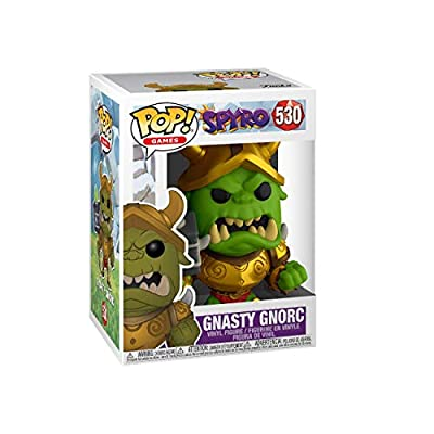 Funko Pop! Games: Spyro - Gnasty Gnorc: Toys & Games