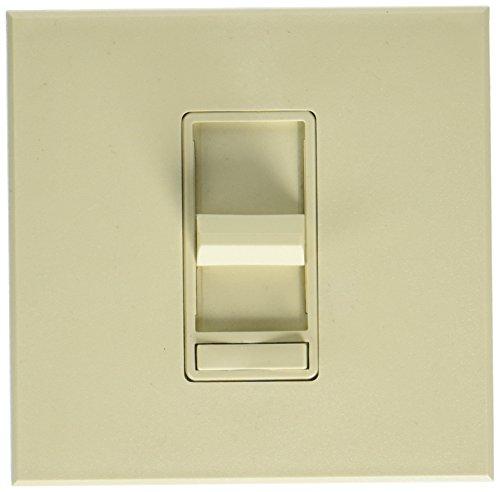 Leviton 71513-I 1500Va 1200W, 3-Way, Renoir Preset Electro-Mechanical Magnetic Low-Voltage Slide Dimmer, Wide Fin, Ivory