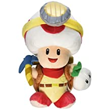 Little Buddy Super Mario Bros. Captain Toad Standing Pose Stuffed Plush, 9 by Little Buddy
