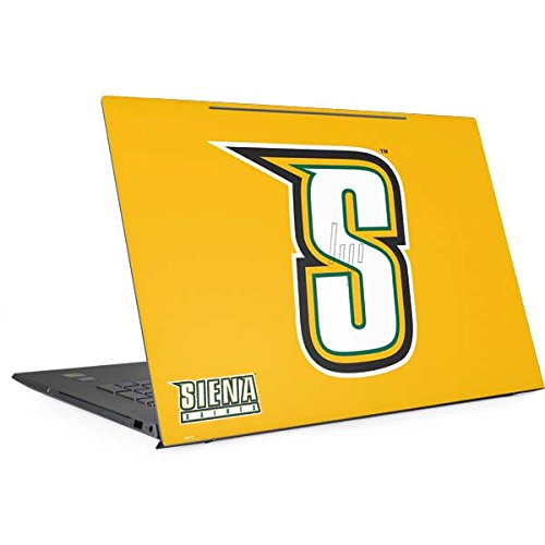 Skinit Siena College Envy 17t (2018) Skin - Siena College Yellow Design - Ultra Thin, Lightweight Vinyl Decal Protection by Skinit
