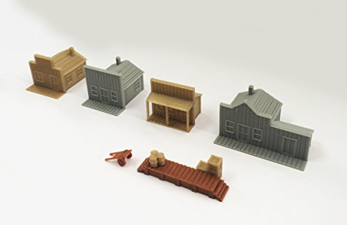 - Outland Models Train Railway Layout Old West Small House Set N Scale 1:160