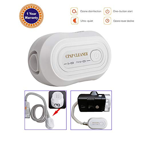Denshine Mini CPAP Cleaner, Portable CPAP Cleaner Disinfector Disinfection, for CPAP Air Tubes Hose Machine Respirator Accessories Auto Cleaning Sanitizer Steriliser from Denshine