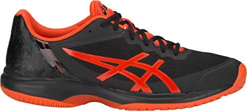 ASICS Gel-Court Speed Men's Tennis Shoe, Black/Cherry Tomato, 15 D US