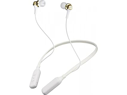 JVC HAFX42BT Premium Sound Bluetooth Earphones w/Neck Band Support - Gold