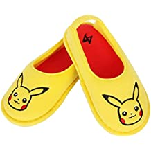 Joah Store Pokémon Pikachu Boys Yellow Slippers Clog Mule Indoor Shoes Runs Small (Parallel Import/Generic Product)