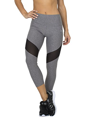 RBX Active Women's Power Capri Length Legging with Mesh Blocking 41n6BqubJ2L