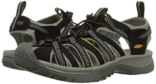 2014 unisex for sale Keen Whisper Sandal - Women39;s Black/Neutral Gray free shipping new outlet factory outlet cheap find great discount online yRjTI