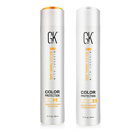 GKhair Moisturizing Shampoo and Conditioner 300ml Duo