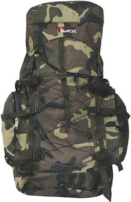 Large Camping Backpack 3200 Cu in Hiking Pack Camouflage, Outdoor Stuffs
