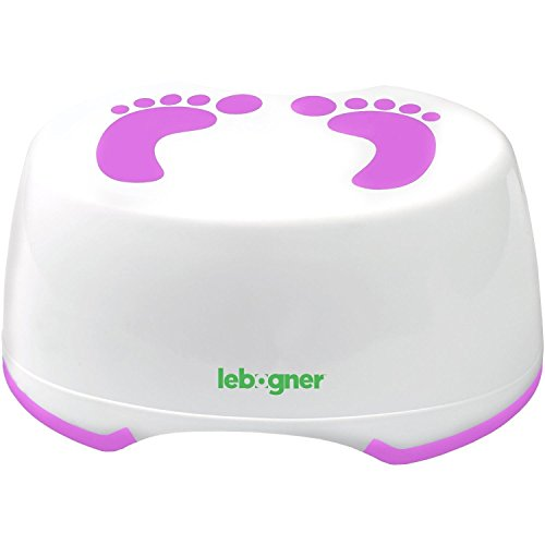 Comfortable Anti-Slip Foot Stool Perfect For Toddler Toilet Training Or Kids Bathroom For Brushing Teeth Or Washing Hands,Stepping Stool For Boys And Girls