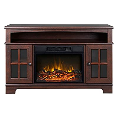 Flamelux Zarate 44.5 in. Electric Media Fireplace