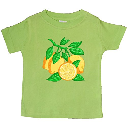 inktastic - I Love Lemons with Lemon Tree Baby T-Shirt 18 Months Key Lime 2fdd0
