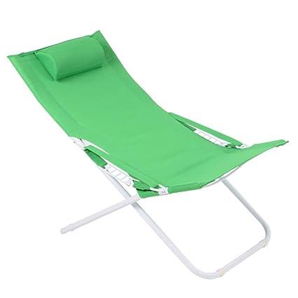 ACZZ Silla de gravedad cero, Plegable, reclinable, Plegable ...