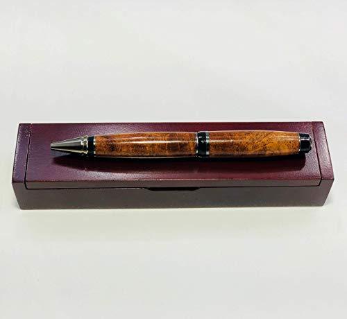 Bendecidos Pens Handmade Pens Texas Mesquite Wood, Black Titanium Plating by Bendecidos Pens (Image #6)