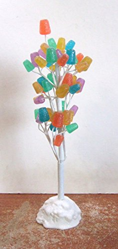 Dept 56 Village Accessories Gumdrop Tree Non-Lit 9 inches (Drop Tree Gum)