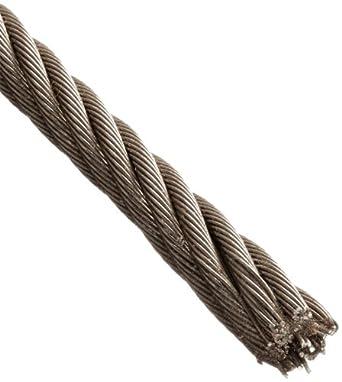 Amazon.com: Cuerda de alambre de acero inoxidable 316 en ...