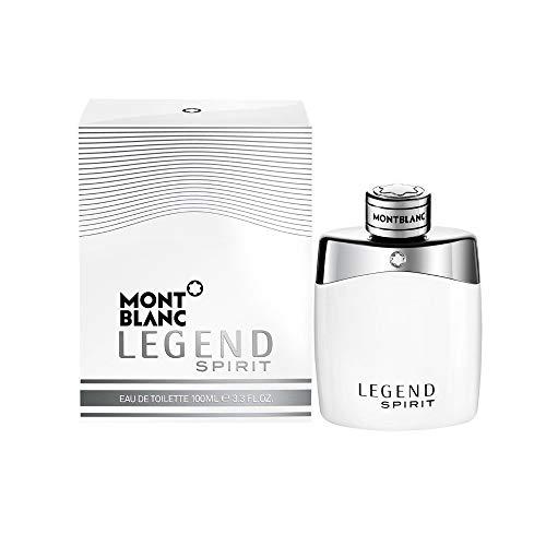 MONTBLANC Legend Spirit Eau de Toilette, 3.3 Fl Oz (Mont Blanc Legend Eau De Toilette Spray)