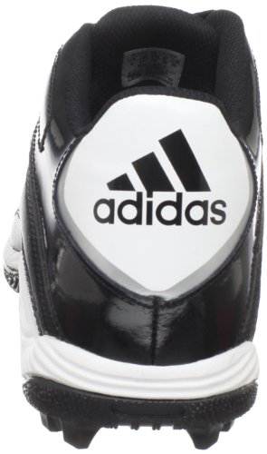 Da Uomo Adidas Destroy Md Mid Football Cleat Nero / Bianco / Argento Metallizzato