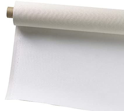 Pro Art 63-Inch by 6-Yards Canvas Rolls, Primed