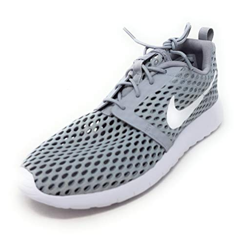 Nike Roshe One Flight Weight (GS) Youth Sneaker (6 M US Big Kid, Wolf Grey / White) (Boys Nike Roshe Size 6)