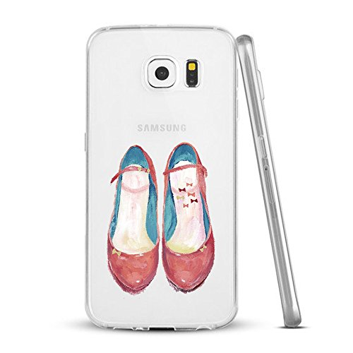 Funda Galaxy S6 Edge Plus,Vanki® Carcasa Cubierta TPU Silicona Goma Suave Case Protection y Premium Clarity Cover Ultra Fino Anti-Arañazos para Samsung Galaxy S6 Edge Plus 3