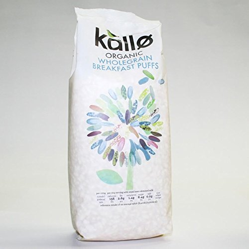 Kallo | Puffed Rice Cereal - Natural | 4 x 225g KALLO FOODS