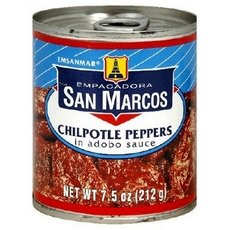 San Marcos Chipotle Peppers, 7.5 Oz, Pack Of 24
