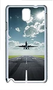 Samsung Note 3 Case Airplane 6 PC Custom Samsung Note 3 Case Cover White doudou's case wangjiang maoyi