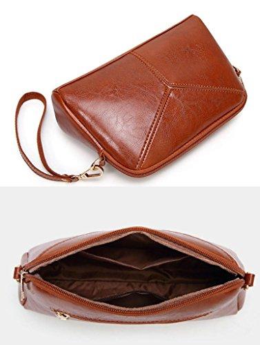 Gkkxue Bag Elegant Women Wallet Red Brass Fashion Vintage color To Handbag Diagonal Send Style The Fashion rfWUqwr54