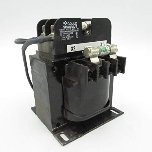 (HAMMOND 143206 U KVA 150VA Secondary 115V Primary 208/230/480/600V Used Transformer w/Fuses)