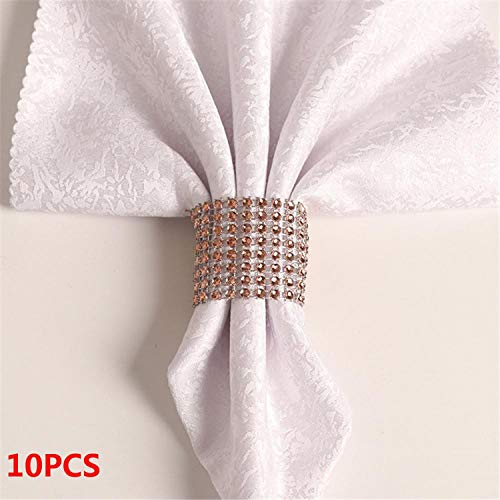 Miao Express 10PCS Wedding Table Decorations Nickel or