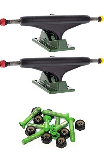 人に関する限り報いるバイアスIndustrial IVロゴ5.5インチスケートボードトラックwith 1