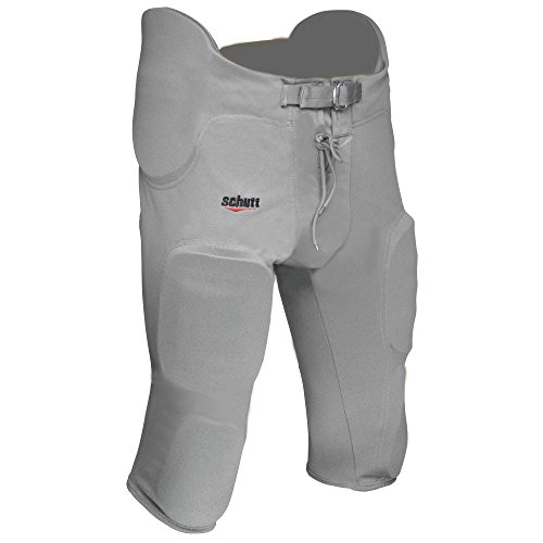 Schutt Sports FB All in ONE Poly Knit Pant Youth L Silver