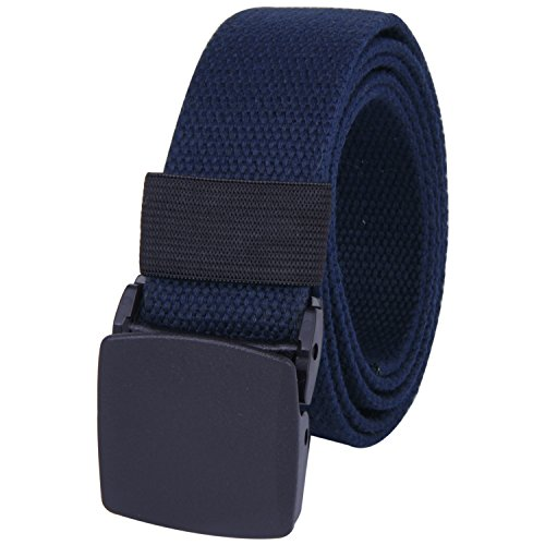 rofify-canvas-web-belt-military-style-with-flip-top-black-plastic-buckle-50-long-navy-color