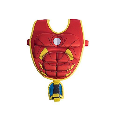 SwimWays Scultped Iron Man Swim Vest, Medium/Large