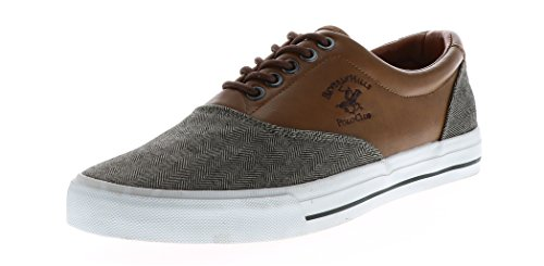 Beverly Hills Polo Heren Camel Oxford Brown
