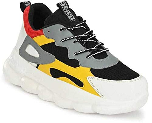 White Walkers Men's & Boys Multicolor Running Casual Sports Shoes