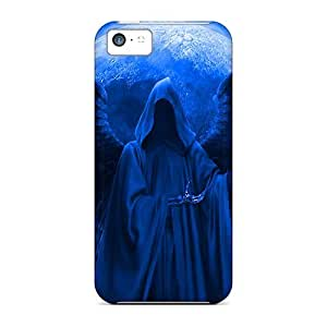 New Premium NikRun Dark Angel Skin Case Cover Excellent Fitted For Iphone 5c