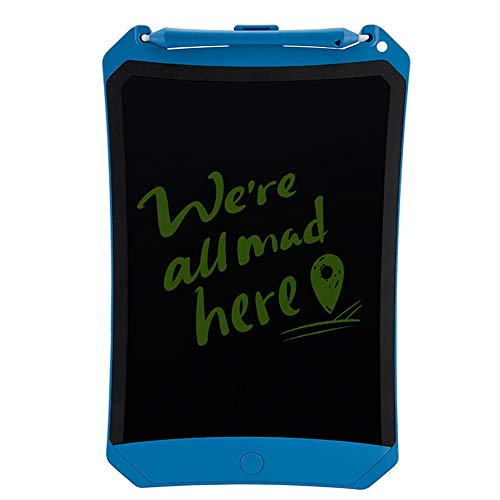 Inch LCD Electronic Writing Board,10 Inch Handwriting Board Color Children's Graffiti Painting Board Light Energy Blackboard Drawing Electronic Graphics (Color : Blue)
