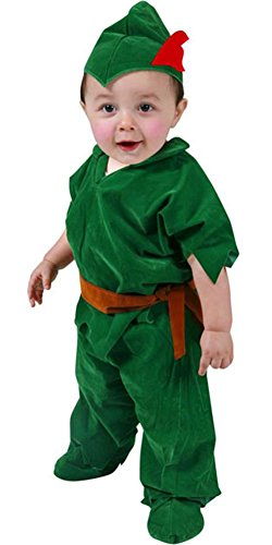Child Deluxe Peter Pan Costumes (Deluxe Toddler Peter Pan Costume (Size:4T))