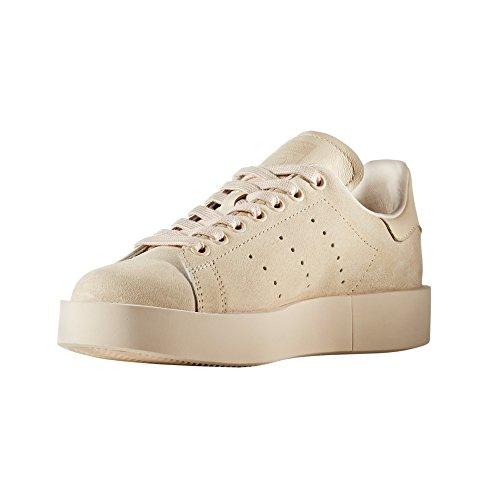 Adidas Originals Damen Stan Smith Bold Platform Leather Trainer zake Pink/Linen