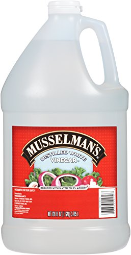 Musselman's Distilled White Vinegar, 128 Fluid Ounce (Pack of 4)
