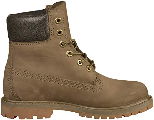 Brown Premium Waterproof 6 Timberland Donna da Polacchine inch 1wPW0