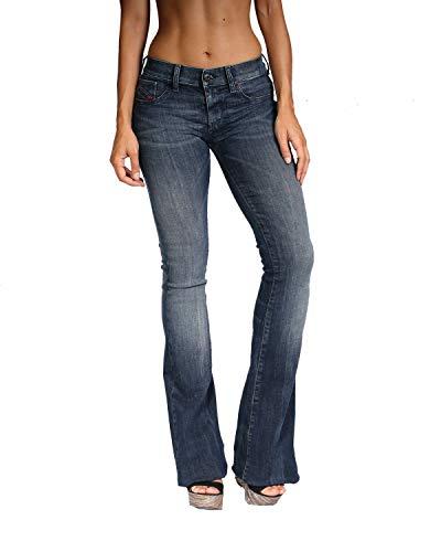 Diesel - Women's Jeans Livier-Flare 670F - Super Slim Flare - Blue, W24 / (Diesel Flare Jeans)